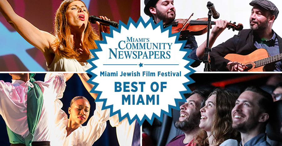 "Miami Jewish Film Festival Named ""Best Of Miami!"""