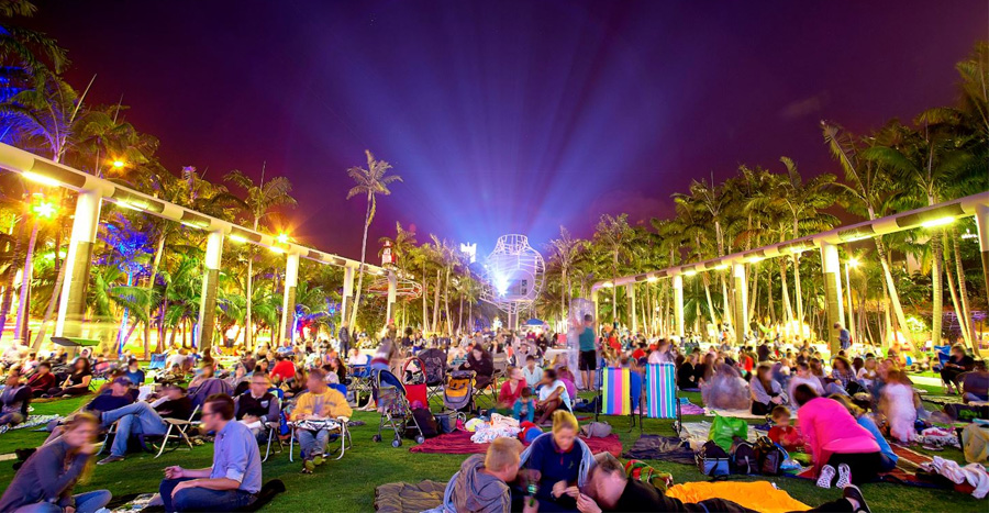 Cinema Under the Stars at the SoundScape