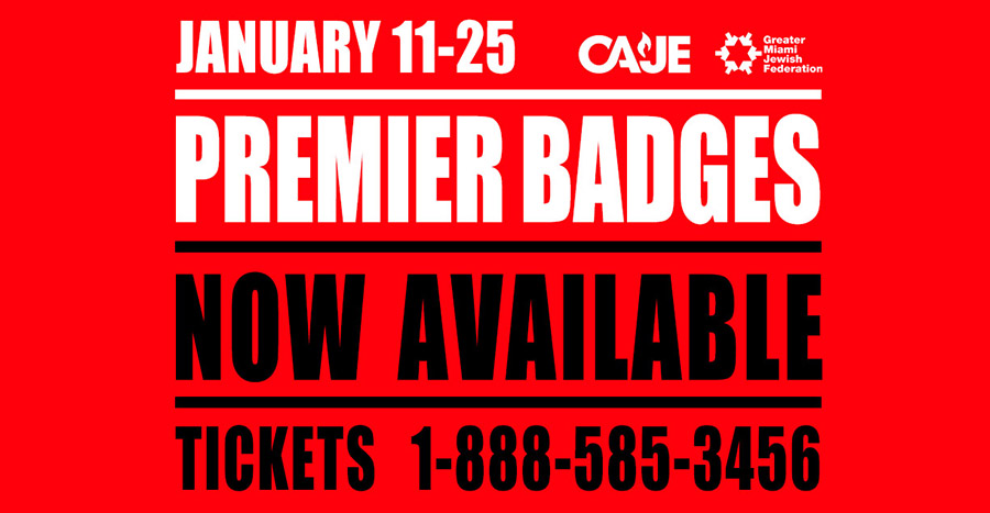 Festival Premier Badges Now On Sale!